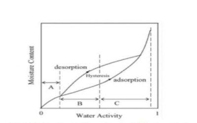 Attività dell'acqua, acqua legata e curva di congelamento – 1/3